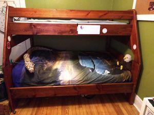 Wood bunk bed for Sale in Denver, CO