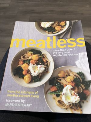 NEW - never used. Meatless Vegetarian Cookbook. for Sale in Murfreesboro, TN