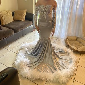 Silver Prom Dress for Sale in Fort Lauderdale, FL