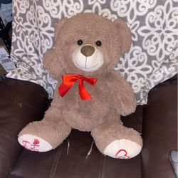 Beautiful, Baby Light Brown, Stuffed Baby Bear Perfect For Valentines for Sale in San Leandro,  CA