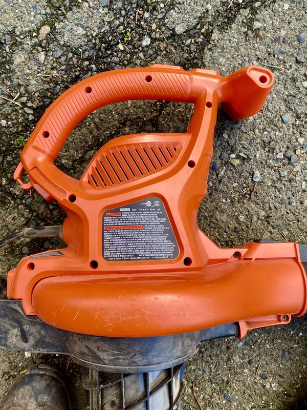 Black & Decker Leaf Blower, Vacuum, Mulcher
