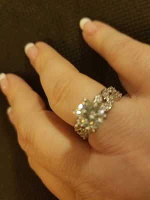 Sz 9 Sterling Silver Engagement Ring for Sale in Knoxville, TN