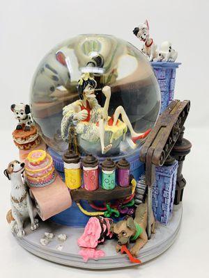 Disney's 101 Dalmatians Cruella Deville Musical Snow Globe for Sale in Irwindale, CA