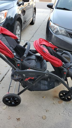 Double stroller - contours options for Sale in West Jordan, UT