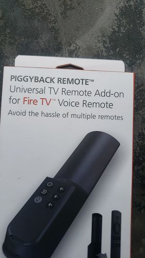 Fire tv voice remote add-on for Sale in Riverside, CA