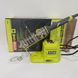 N763) Ryobi 18v 40w Soldering Iron ( Tool Only Sólo Herramienta) for Sale in Riverside, CA
