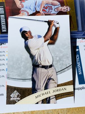 2013 Upper Deck SP Authentic Golf Michael Jordan Card No. 23 for Sale in San Diego, CA