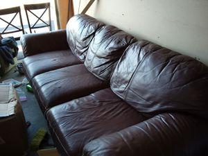 Leather Couch for Sale in Lexington, KY