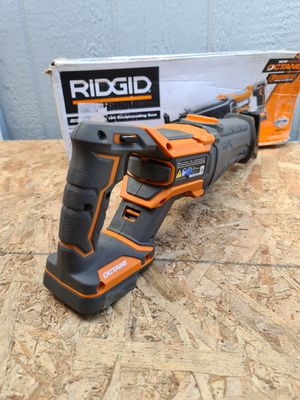 Ridgid 18-Volt OCTANE Lithium-Ion Cordless Brushless Reciprocating Saw (Tool-Only) for Sale in Snohomish, WA