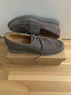Cole Hann. Grey Boat Shoes. Size 13. Nike Lunar bottom. Low usage, like New. for Sale in Los Angeles, CA