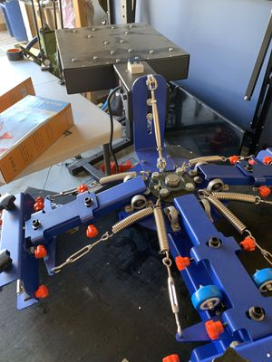 Screen printing set up for Sale in Watsonville, CA
