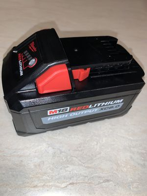 """M18 high output xc8.0 battery. $100 """"""""""""""""""""""""""""price is firm"""""""""""""""""""" for Sale in Bellevue, WA"""