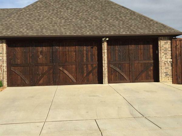 Wood Garage Door For Sale In Fort Worth Tx Offerup