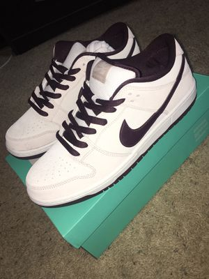 (ONLY RELEASED IN THE UK) Nike Sb dunk low Desert Sand/Mahogany Size 11.5 for Sale in Long Beach, CA