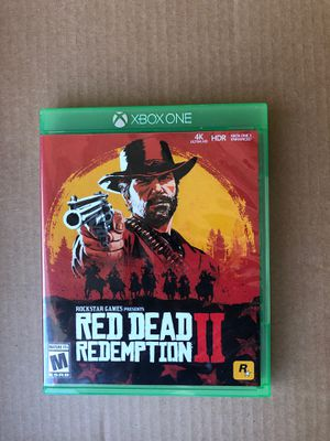 Red dead redemption 2 for Xbox one for Sale in Los Angeles, CA