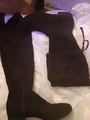 Knee high Suede sz.9 boots for Sale in San Leandro, CA