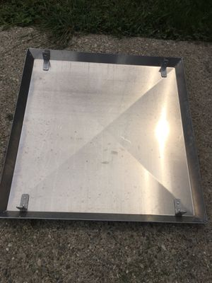 Stainless Steel Drip Pan Catch Pan for Harley Davidson Motorcycle Street Bike for Sale in Garden City, MI