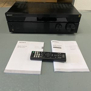 Awesome SONY STR-DH790 Multi Ch receiver for Sale in Glendale, CA