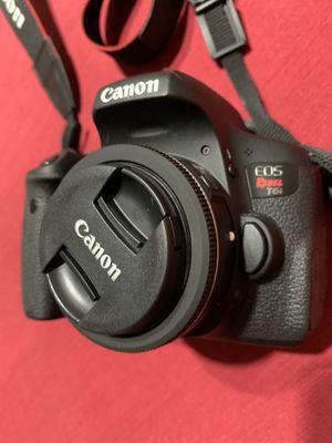 Canon Rebel T6i DSLR Camera and Accessories for Sale in Fullerton, CA