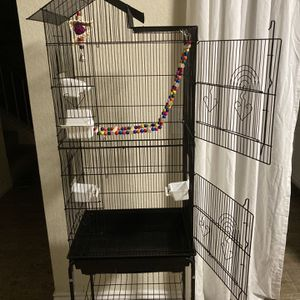 Parrot Cage, Bird Cage for Sale in Fontana, CA