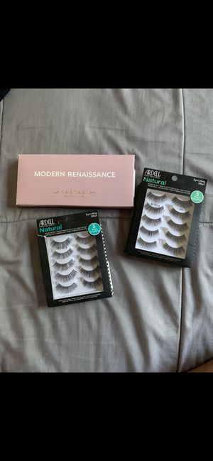 Rennaisance palette & lashes for Sale in Fresno, CA