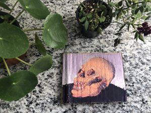 multimedia skull painting for Sale in Phoenix, AZ