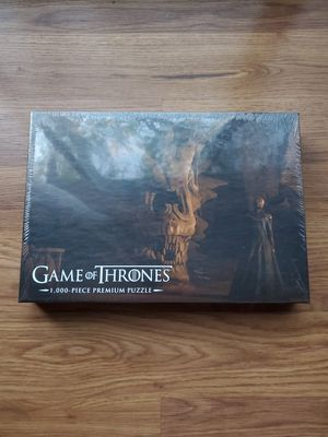 Game of Thrones Balerion the Black Dread 1,000-Piece Premium Puzzle for Sale in Arlington Heights, IL