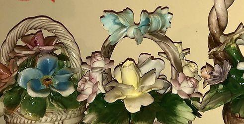Capodimonte Porcelin Flower Bouquets- $50-140 for Sale in Morgantown,  WV