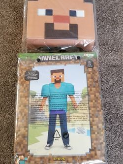 Minecraft Costume Size L 10-12 for Sale in Clackamas,  OR