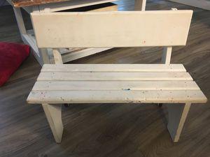 Toddler bench for Sale in Mauldin, SC