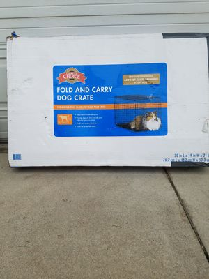 Fold and carry dog crate for Sale in Fontana, CA