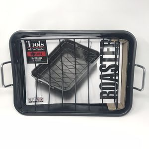Tools of Trade Roaster Pan With Rack Nonstick Carbon Steel Black for Sale in Fort Worth, TX