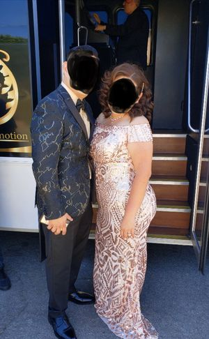 Woman Sequence Rose Gold Dress Size Extra Large XL for Sale in Huntington Park, CA