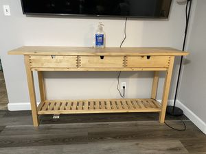 Entry table/media console for Sale in Sacramento, CA