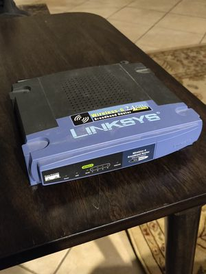 Linksys WRT54G 2.4 GHZ 4-Port Wireless G Broadband Router for Sale in Bridgeview, IL