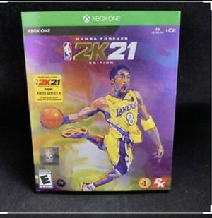 NBA 2k21 mamba edition for Sale in Forest Heights, MD