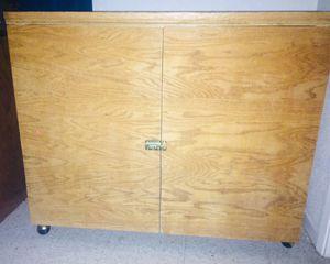 Handbuilt Wooden Cabinet for Sale in Modesto, CA