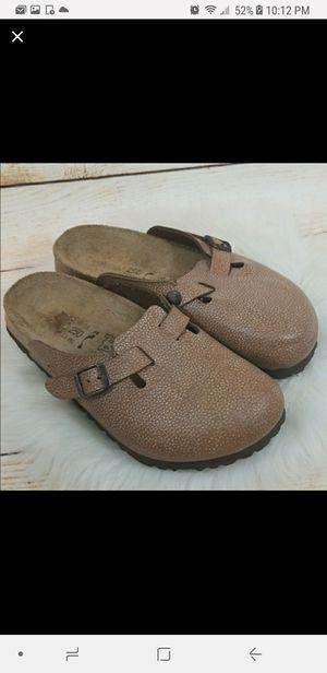 Birkenstock slip on clog mule sandals size 8 Birki for Sale in Victorville, CA