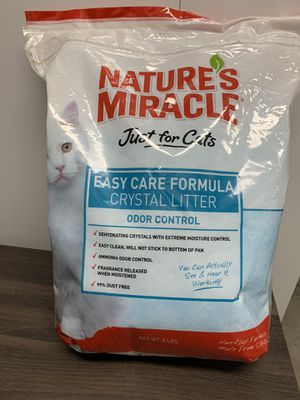 Natures Miracle Cat Litter New Sealed Bag for Sale in Milwaukee, WI