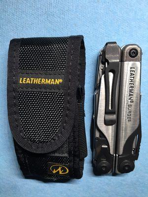 Leatherman surge multi tool / With Case for Sale in Locust Grove, GA