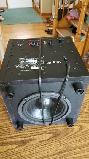 Infinity BU-1 Subwoofer Speaker for Sale in VLG OF LAKEWD, IL