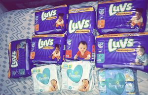 Luvs & Pampers Wipes for Sale in McKees Rocks, PA