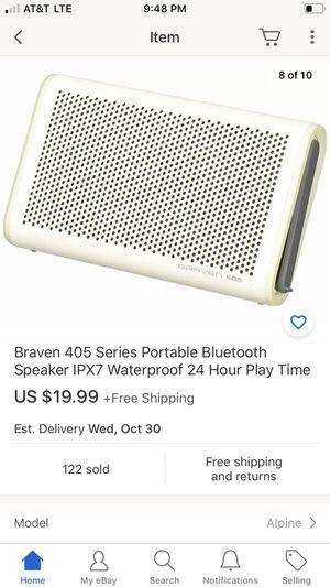 Braven 405 Series Portable Bluetooth Speaker IPX7 Waterproof 24 Hour Play Time for Sale in Lakewood, CA