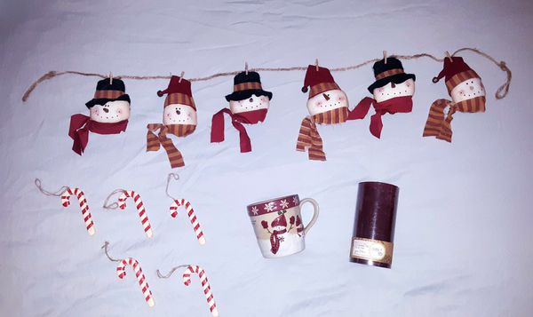 Coordinating Rustic Christmas Decor Bundle