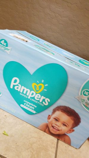 Pampers baby wipes 1152 count for Sale in Phoenix, AZ