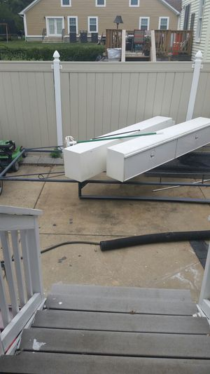 Made by reading 8 foot tool bins and matching ladder rack for Sale in Glenarden, MD