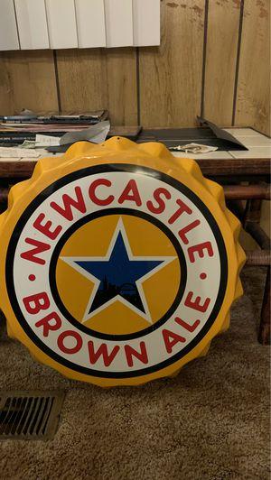 Newcastle bottle cap (big) for Sale in Oceanside, CA