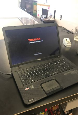 Toshiba with cord laptop. C875d-s7101 for Sale in Roswell, GA