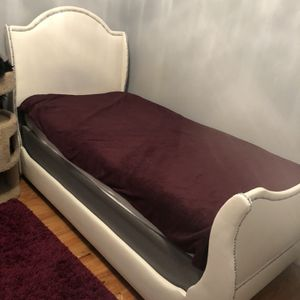 Twin Bed Frame- Mattress Not Included for Sale in St. Louis, MO