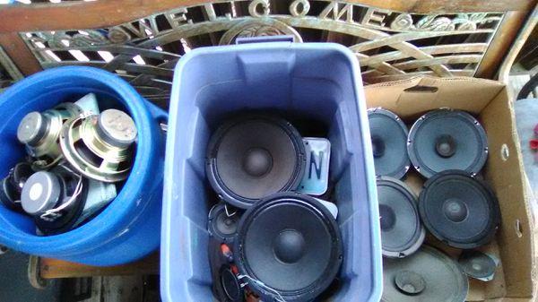 JVC ,JBL,soundoiler,zenith, Cerwin Vegas. Yorx